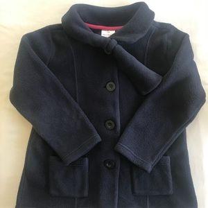 Other - Hanna Andersson Navy Fleece Pea Coat